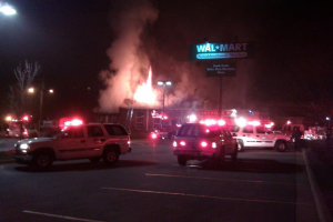 Nashville Fire Department rushed to the scene of the fire: The fateful night of December 1, 2011 when the building was set ablaze.