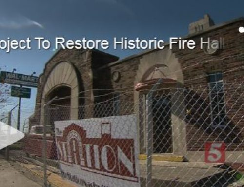 NEWS CHANNEL 5: RESTORATION OF HISTORIC FIRE HALL HITS SNAG